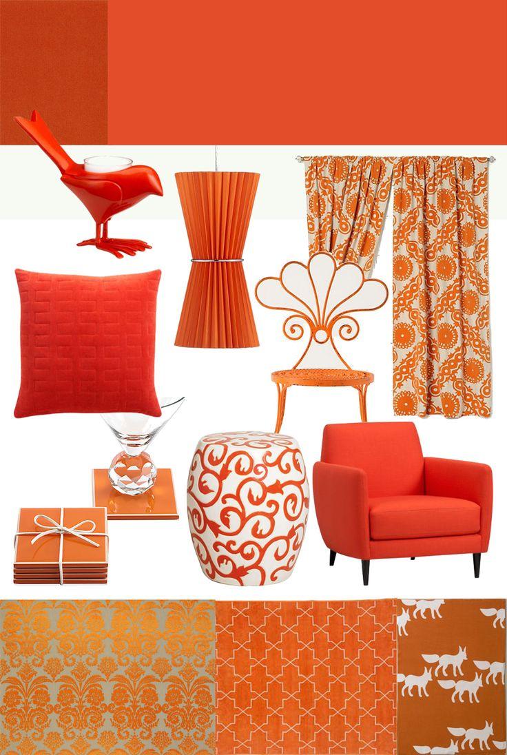 23 best The Color Orange/Pantone 2012 Tangerine Tango images on ...