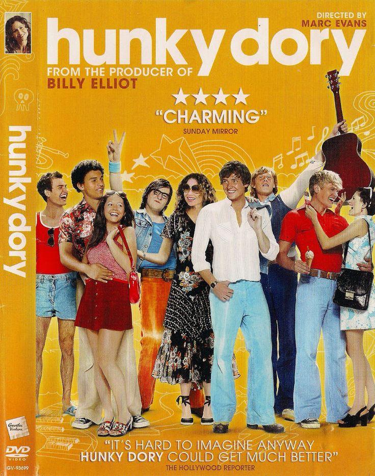 Hunky Dory (DVD, 2013) Minnie Driver, Haydn Gwynne, Danielle Branch; Marc Evans #GravitasVentures