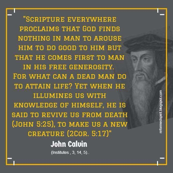 a biography of john calvin a promoter of protestantism and the father of calvinism 68 quotes have been tagged as calvinism: john calvin: 'there is not one blade of grass, there is no color in this world that is not intended to make us r.