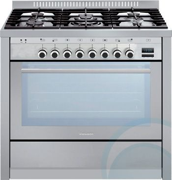Freestanding Glem Dual Fuel Oven/Stove ML96GGESI3 $3499