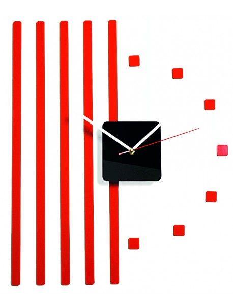 Plastové nástěnné hodiny červené. Rozměr 58 x 45 cm  Kód: FL-z10b-3-RED-RAL3000  Stav: Nový produkt  Dostupnost: Skladem  Přišel čas na změnu! Dekorační hodinky oživí každý interiér, zvýrazní šarm a styl Vašeho prostoru. Zůtulní realít s novými hodinami. Nástěnné hodiny z plexiskla jsou nádhernou dekorací Vašeho interiéru.
