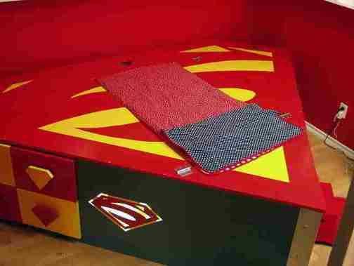 Superman Bedroom Decorating Ideas 1
