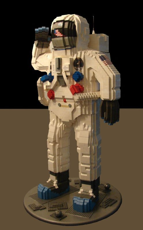 lego astronaut spaceship - photo #16