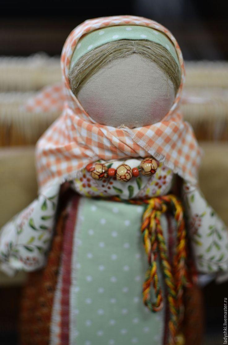 Купить Русский народный оберег-Рябинка - разноцветный, оберег, подарок, текстильная кукла, народная кукла