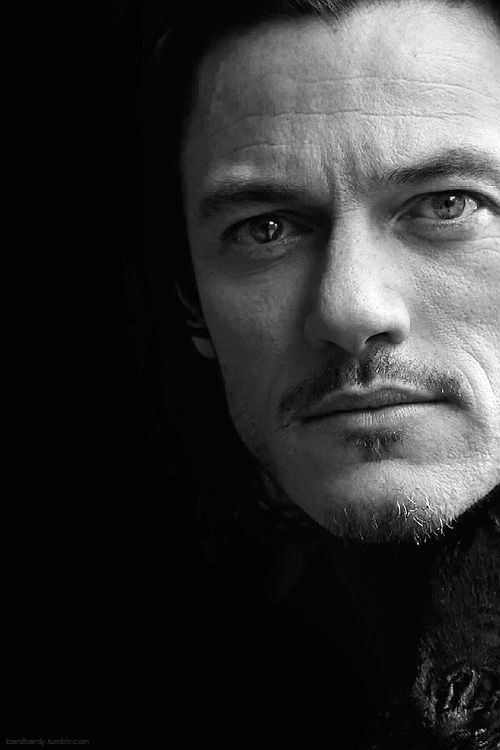 "Luke Evans - deliciously versatile actor, radiates a ""thinking male"" persona, seems to be able to carry off ""any"" look. Not many actors out there that truly intrigue me, but I'd really enjoy getting to know him, simply as a person."