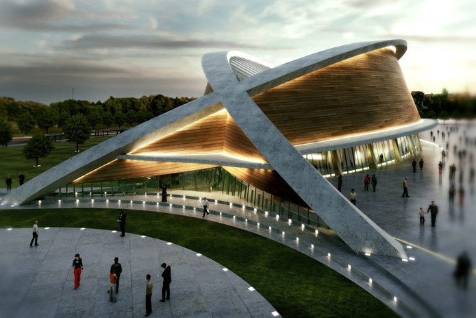 DOS architects: olympic swimming pool in kurdistan