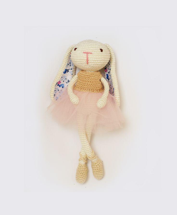 Króliczka balerina – wzór