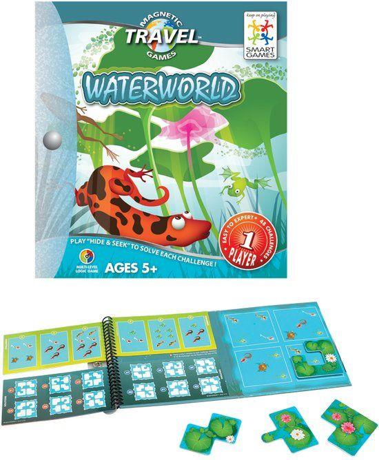 Smart Games Magnetic Travel Waterworld - Reiseditie