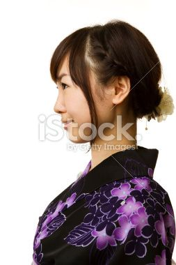 Japanese woman - face / profile   CLIPART   Pinterest