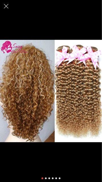 7a Brésilienne Crépus Bouclés Vierge Cheveux Pas Cher Crépus Bouclés Vierge cheveux 3 Pièce 27 Miel Blonde Brésilienne Cheveux Weave Extension 100g de la boutique en ligne | Aliexpress mobile