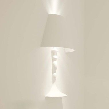 wandlamp gips