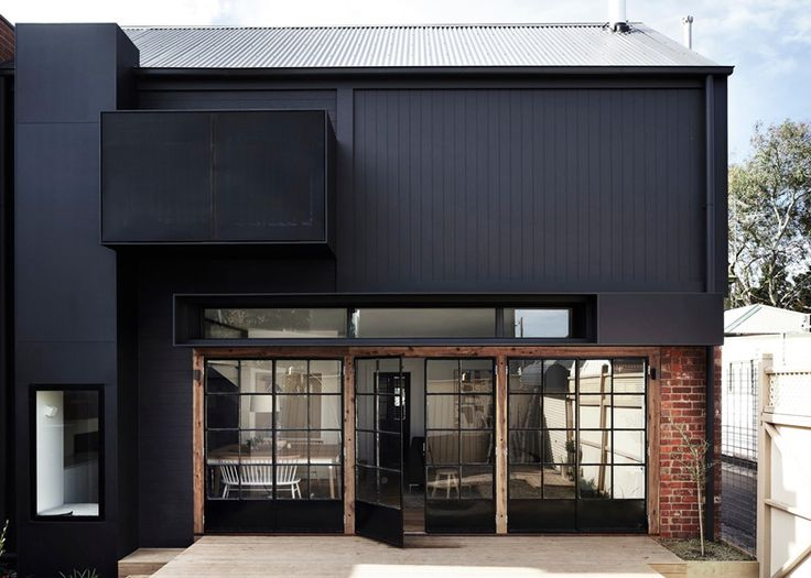"A rear extension to a ""double fronted Edwardian Redbrick"" in Melbourne by Whiting Architects."
