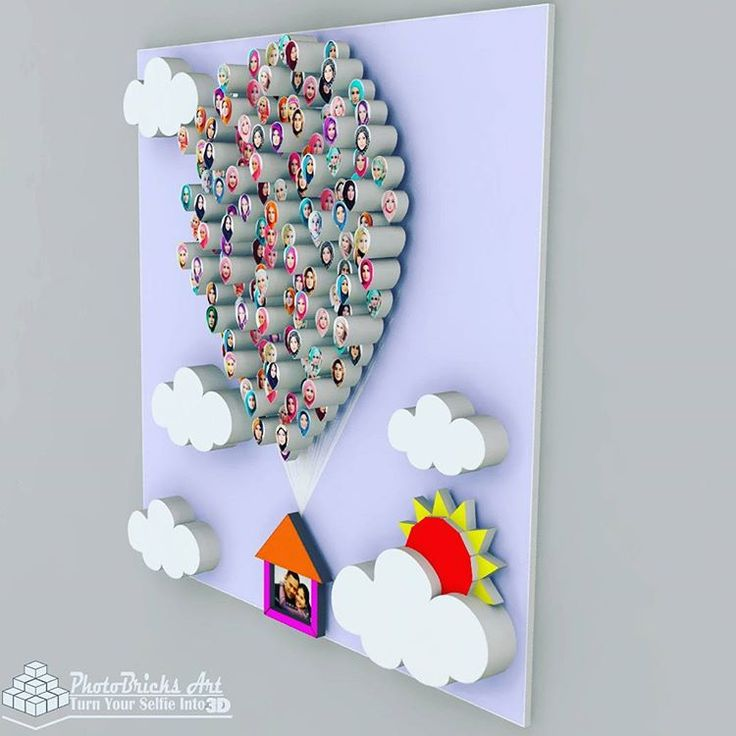BallonHouse model (no case view). Size 30x30 cm. Wanna purchase? Check our bio for more info. #interior #walldecor #decoration #interiordesign #creativeindustry #craft #art #gift #creative #creativeart #desainunik #desainkreatif #creativedesign...