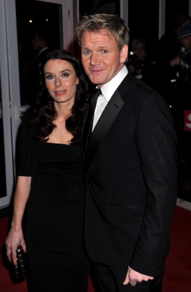 Gordon Ramsay with Tana Ramsay