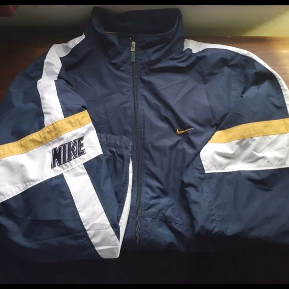 Vintage Nike windbreaker Vintage Nike windbreaker. Fits like a large. Fully lined, like new NO trades Nike Jackets & Coats