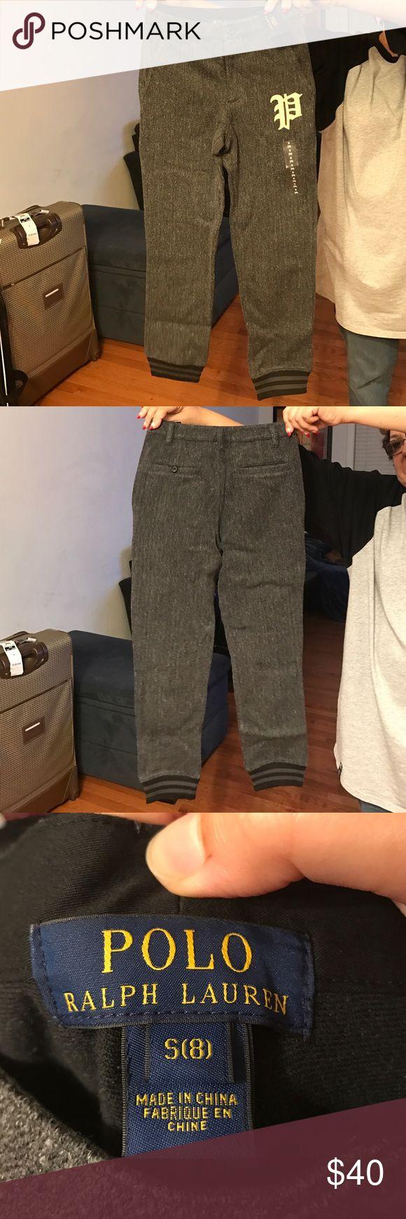Polo By Ralph Lauren Boys Jogger Pants 100% Cotton Polo by Ralph Lauren Bottoms Sweatpants & Joggers