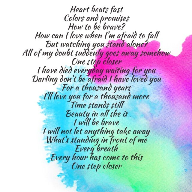 Love Quotes About Time Standing Still: Heart Beats Fast Colors And Promises How To Be Brave? How