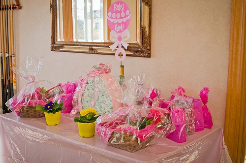 baby shower centerpieces and decorations
