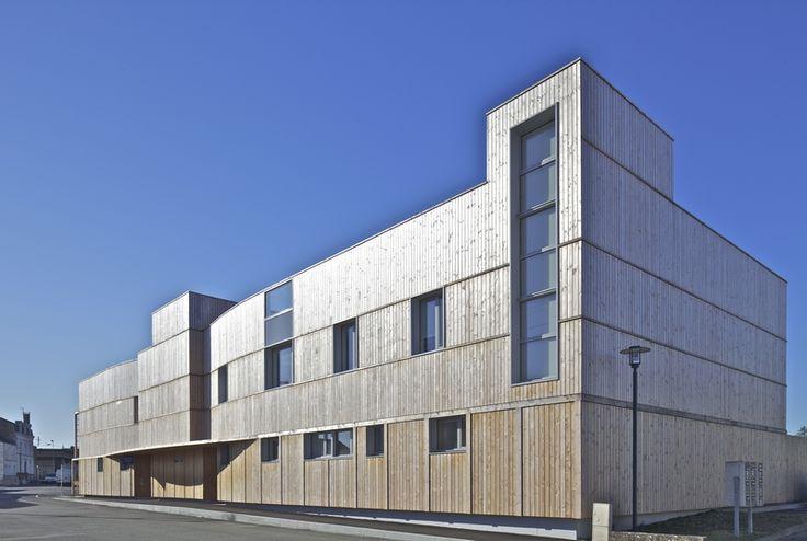 Centre m dico psychologique parthenay 79 architecte for Parent architecte