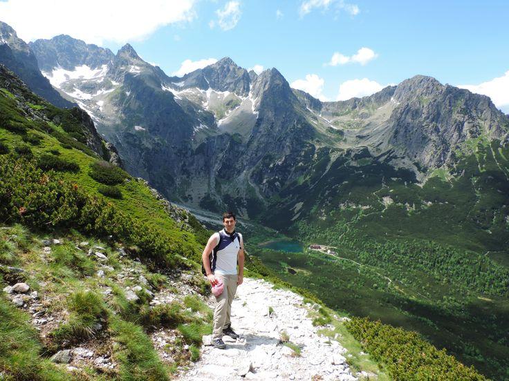 Trail to Zelené pleso, High Tatras National Park, Slovakia