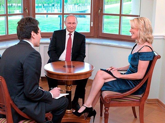 Megyn Kelly Advances 4 Democratic Conspiracy Theories in Putin Interview - Breitbart
