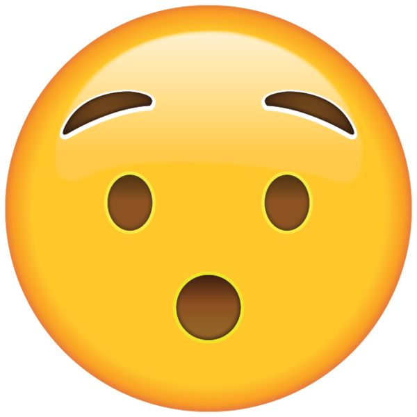 Shocked into silence? Well, let this little astounded emoji do the talking for you!