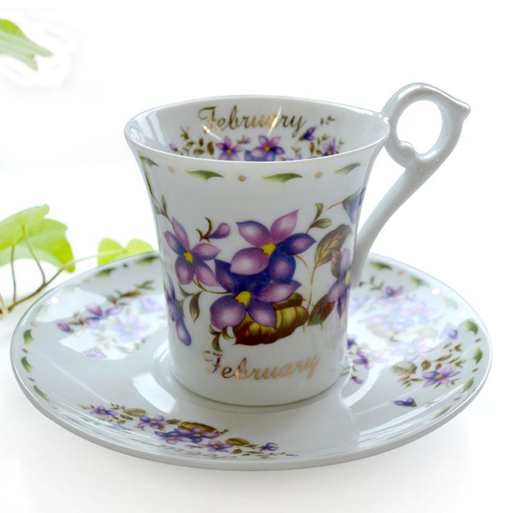Фреш LLADRO керамика кофе чаша фиолетовый компактный орхидея послеобеденный чай комплект кофе чаша комплект 2 чашки и 2 блюда / много