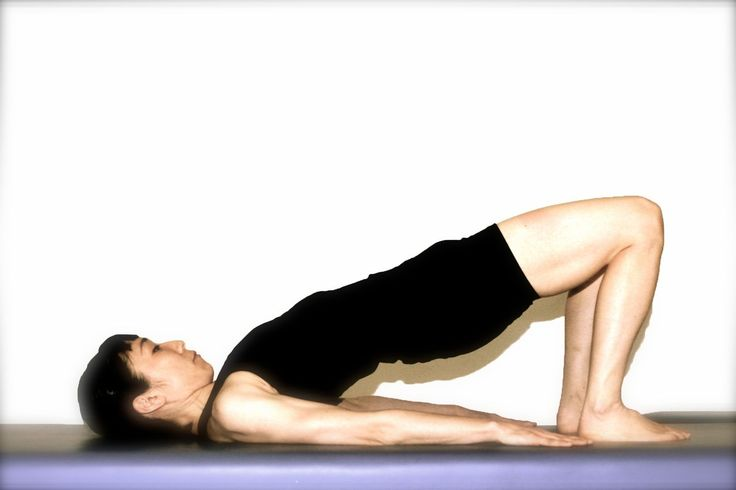The Pilates Shoulder Bridge will Give you a Strong Back and Tight Buns.