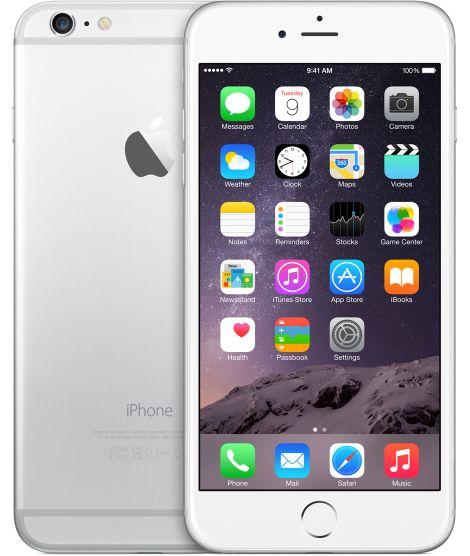Apple iPhone 6 Plus, 64GB, Silver - (LTE) Verizon Wireless (U.S.)