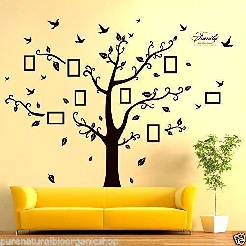 Family Wall Tree Vinyl Decal Sticker Art Mural Home Decals Branch Room Bedroom #Unbranded