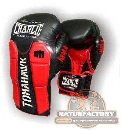 Los Guantes Tomahawk de Charlie son ideales para entrenar Boxeo, MMA o Muay Thai. Envío Gratis 24h.