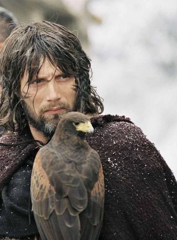"""Mads Mikkelsen en""""El Rey Arturo"""" (King Arthur), 2004"""