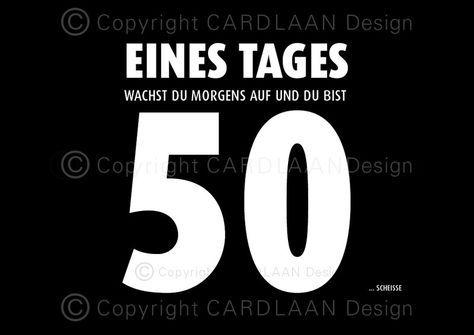 Einladungen 50 Geburtstag Funfzigster Geburtstag Lustige