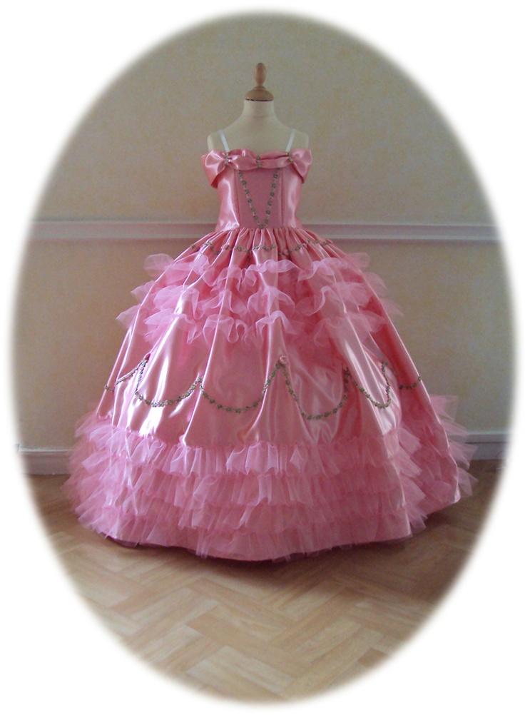 robe sissi fiancaille rose princesse pinterest roses. Black Bedroom Furniture Sets. Home Design Ideas