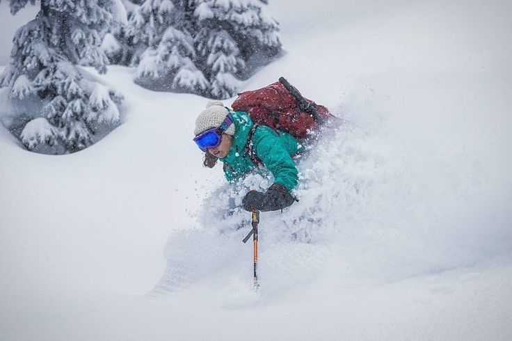 Katrina having deep thoughts while in the white room. The Zen feeling when you're shredding through deep snow is different from everything else.  #MountainCultureElevated #ExploreBC #BritishColumbia a#skiBC #earnyourturns #liveskirepeat #powdays #northmanlife #skitouring #skiing #backcountryskiing #backcountry #ventureout #untrackedexperience