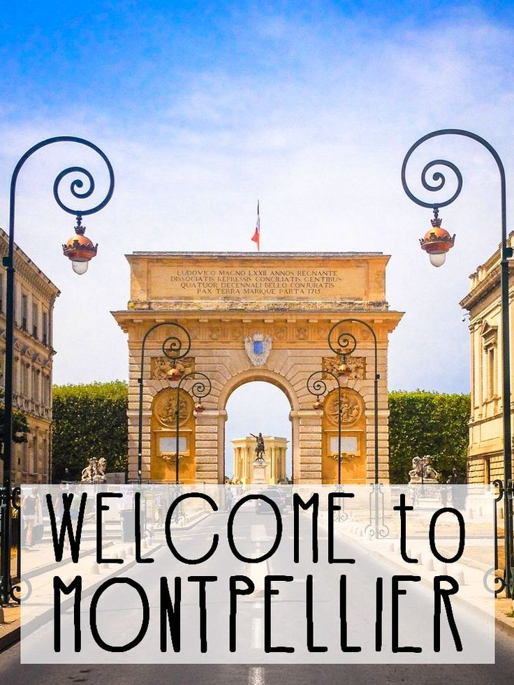 Fancy a guided tour of Montpellier, a charming city in the South of France? Come discover our hometown!