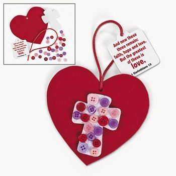 1000 ideas about christian crafts on pinterest sunday for Inspirational valentine crafts