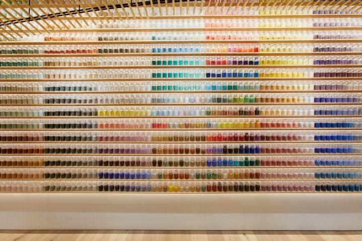 Pigment store by Kengo Kuma, Tokyo – Japan » Retail Design Blog