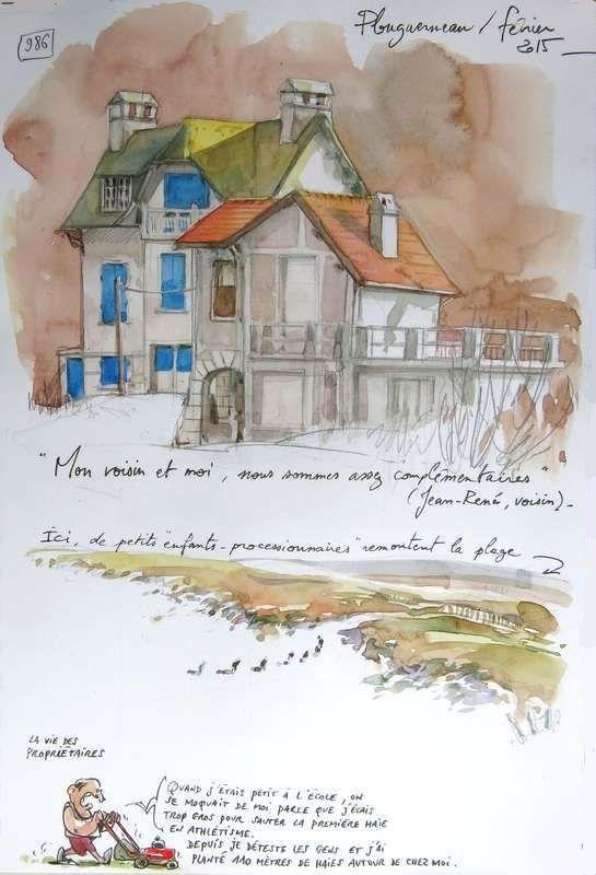 986 - Une Bretagne par les Contours / Plouguerneau