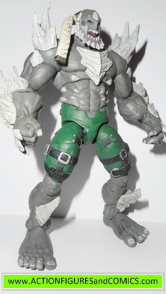 DC Direct / DC Collectibles action figures INJUSTICE Gods Among Us 2013/2014 DOOMSDAY 100% COMPLETE Condition: Excellent - nice paint, nice joints. nothing broken, damaged, or missing. Figure size: 5.