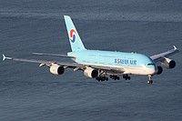 HL7619 Korean Air Lines Airbus A380-861