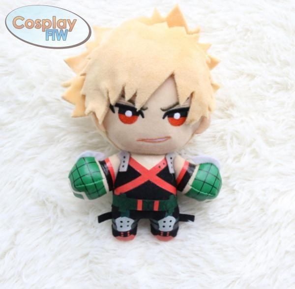 My Hero Academia Boku no hero Academia Bakugou Katsuk Plush Toy Doll Kids