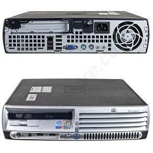 Calculatoare second hand   HP/Compaq DC7700/Core2Duo 2.4G/2G/160G/DVDRW/USFF #calculatoaresecondhand #calculatoaresh