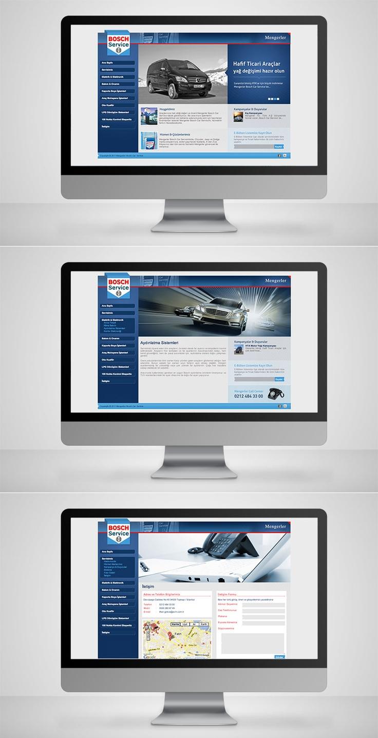 Mengerler Bosch Service Website