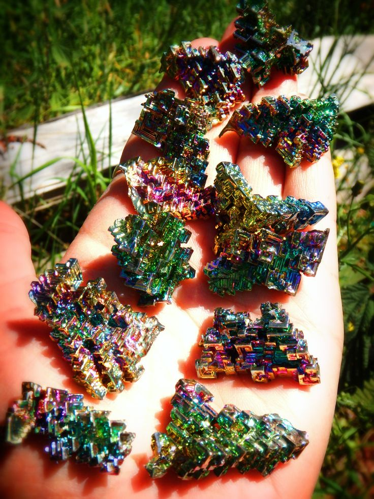 ~AMAZING GALACTIC RAINBOW BISMUTH SPECIMEN~  AVAILABLE By Following This LINK: