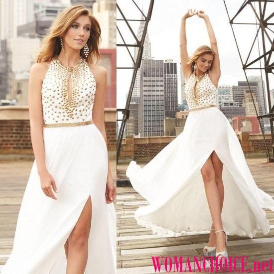 Белое платье - 156 фото модных платьев белого цвета