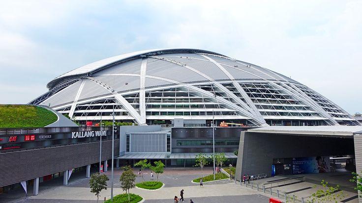 シンガポールのスポーツのハブ, スポーツ, ゲーム, 鋼, 競争, サッカー, 草, フェンス, 再生