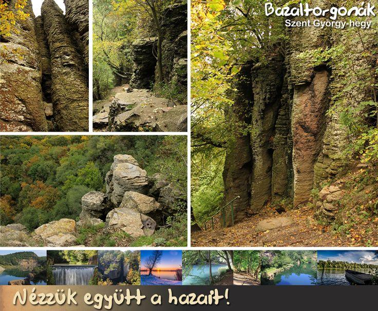 Bazaltorgonák - Szent György-hegy