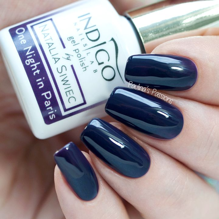 Indigo Nails by Natalia Siwiec Fall 2016 swatches (One Night in Paris)