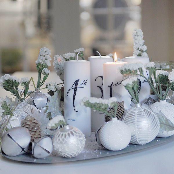 Датский дизайнер Йонас Йенсен придумал эффектную зимнюю композицию из новогоднего декора и цветов. Пошаговый мастер-класс, как сделать и сэкономить средства.